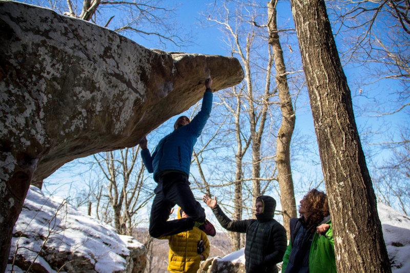 Rock Climbing Photo: Le Beak