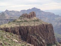 Rock Climbing Photo: Monument Palisade