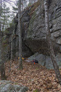 Rock Climbing Photo: Winter Wall