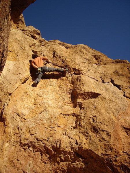 Rock Climbing Photo: Matt Lawry sending Power Play.