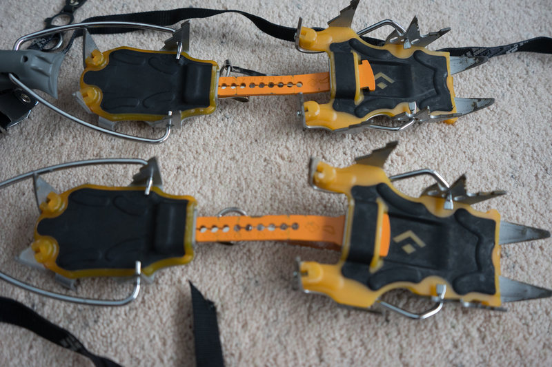 Rock Climbing Photo: crampons
