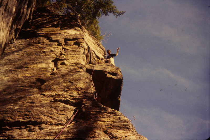 Myself on a 5.7 in the '70s.