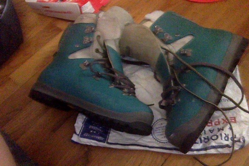 FS: Asolo AFS size 8.5 plastic boots $50 obo