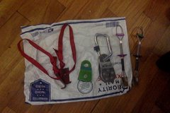Leaper hooks- $15 <br />SMC pulley - $10 <br />BD Pulley- $12 <br />Trango Ball nuts $20 each
