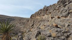 Rock Climbing Photo: You'll know you're in the right place as you head ...