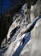 Rock Climbing Photo: Ben and Jerry's in somewhat thin, rotten condition...