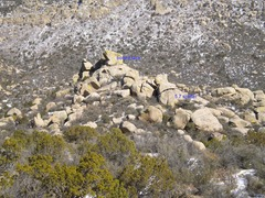 Rock Climbing Photo: Who knows about this cluster of boulders higher in...