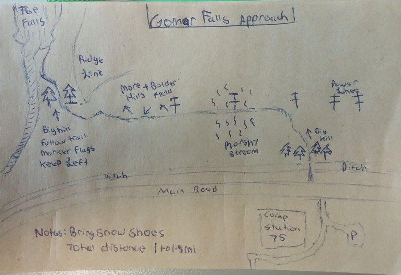 Gomar Falls Approach