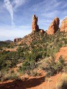 Rock Climbing Photo: Definitely not the correct approach angle