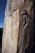 Rock Climbing Photo: John Bachar on Phantom, 5.13 R