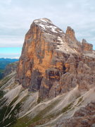 Rock Climbing Photo: This photo from Tofana di Mezzo Punta Anna shows t...