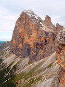 Rock Climbing Photo: That is your descent trail zigzagging east / below...