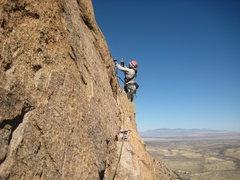 Rock Climbing Photo: third pitch