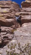 Rock Climbing Photo: The man himself at the crux