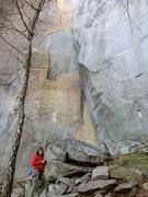 Rock Climbing Photo: shining rock