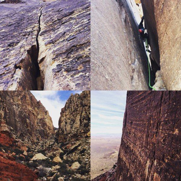 Rock Climbing Photo: Black Velvet Canyon!