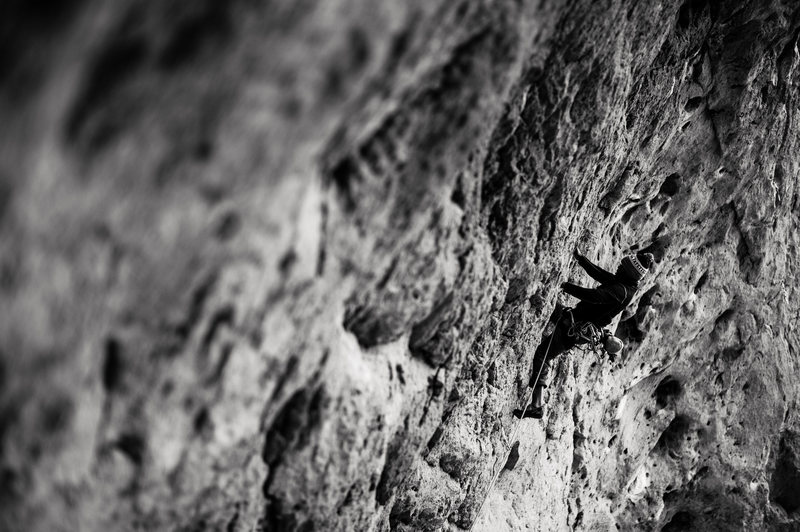Rock Climbing Photo: climbing in siiting bull