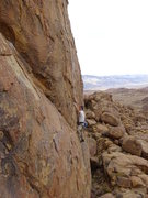 "Rock Climbing Photo: F.A.""Diamonds & rust"" 5.10d****"