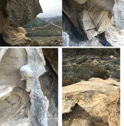 Rock Climbing Photo: Some of the scenery of and from the cave.