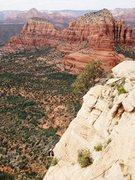 Rock Climbing Photo: Sedona Climbing W/ Nate