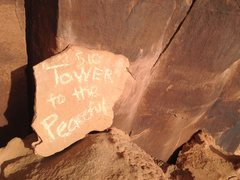 Rock Climbing Photo: Plaque
