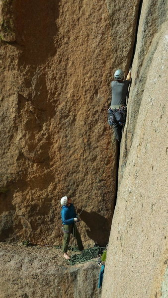 Rock Climbing Photo: Wunsch's