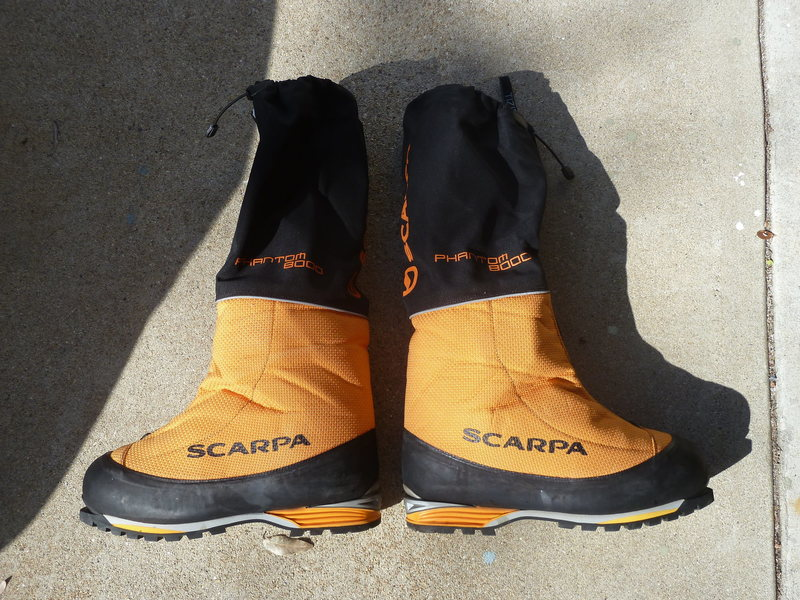 Rock Climbing Photo: Scarpa Phantom