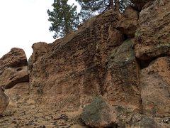 Rock Climbing Photo: Honeycomb Wall