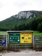 Rock Climbing Photo: Peilstein main wall from near Thalhofbauer