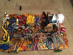 Rock Climbing Photo: the gear coming out of the box of shame