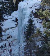 Rock Climbing Photo: Full route condition 22 February 2016 and top-rope...
