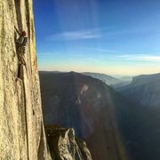 Rock Climbing Photo: North West Face of Half Dome