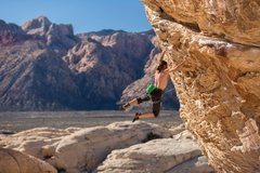 Rock Climbing Photo: David Allfrey on Keep Your Powder Dry