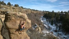 Rock Climbing Photo: Castlewood Canyon showing her good side.
