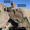West side of Whale Boulder:<br> <br> [[Scotland 'Wales', V4]]107317567.<br> [[Moby Dick, V5]]108058219.<br> [[The Whale, V2]]106994010.<br> [[Southwest Face]]107261335.<br> [[Finger Wrecker, V2]]106993821.<br> [[The Mummy, 5.8]]106337191.