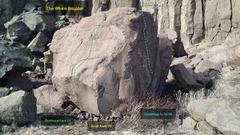 Rock Climbing Photo: The Whale Boulder:  Southwest Face, V0. South Aret...
