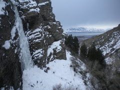 Rock Climbing Photo: 'Pure Fun' (WI3+)