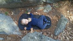 Rock Climbing Photo: Crashed out in the Gunks