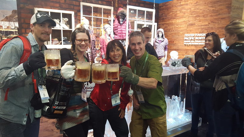 Rock Climbing Photo: Cold beer in a Ice Mug, We need to make a bunch of...