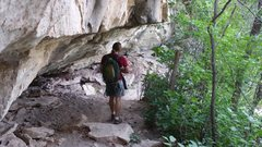 Rock Climbing Photo: caveage at the East Animas