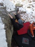 Rock Climbing Photo: Dead of winter