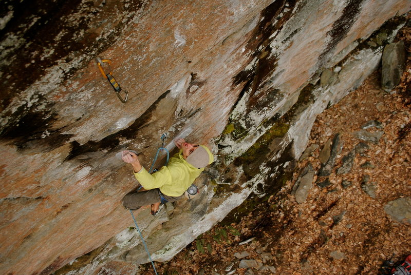 Rock Climbing Photo: gray matter