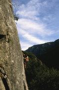 """Rock Climbing Photo: Kevin Lollard on """"Rocket In My Pocket"""" (..."""
