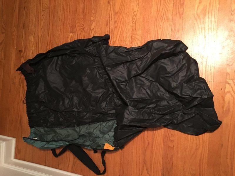 Rock Climbing Photo: Bad bag 2