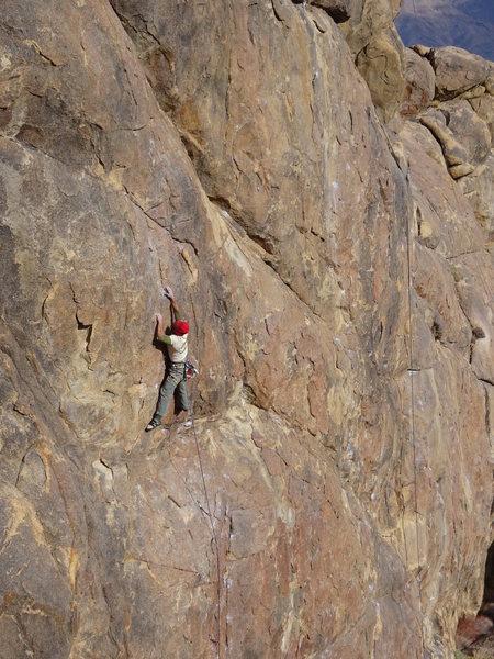 "Rock Climbing Photo: Darren F.A. ""Bloodstone"" 5.11***"