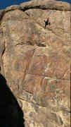 "Rock Climbing Photo: F.A. "" world painted blood"" 5.11***"