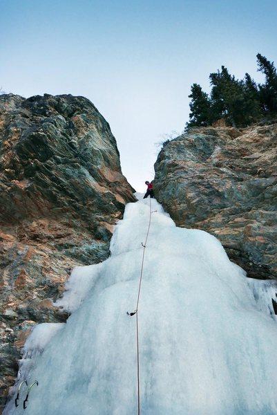 Rock Climbing Photo: Dragonfly, Healy Alaska