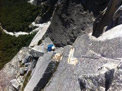 Rock Climbing Photo: P9 to the nipple