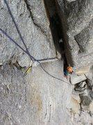 Rock Climbing Photo: Coming up P5