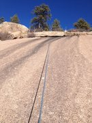 Rock Climbing Photo: The upper part of the climb.